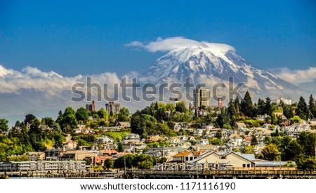 Mt. Rainier from Tacoma, WA