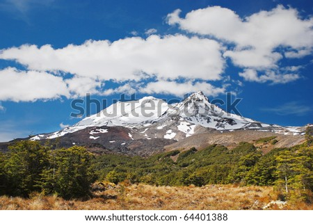 Mt. Ruapehu, Tongariro national park, New Zealand