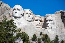 Mt. Rushmore National Memorial is located in southwestern South Dakota, USA.