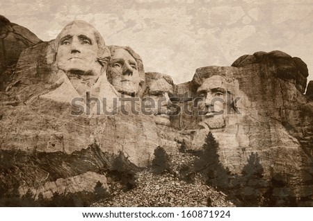 mt. rushmore national memorial...