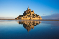 Mt Saint Michel  in France