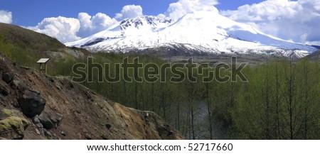 Mt. St. Helen's, National Monument & park.