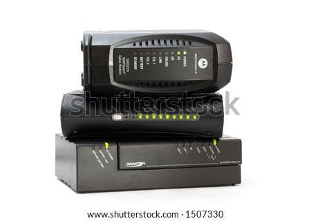 MTA cable modem - Internet and voice in only one equipment