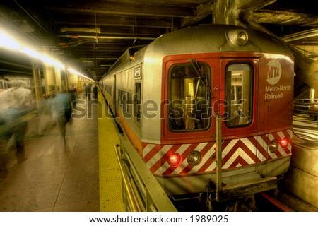 MTA - train ,NEW YORK ,Grand Central