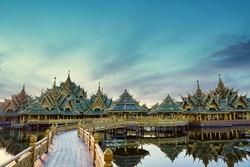 Muang Boran in Ancient Siam, Bangkok, Thailand.
