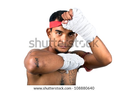 muay thai boran fighter