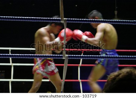 Muay Thai (Kickboxing) match
