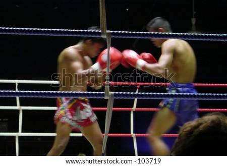 Muay Thai (Kickboxing) match