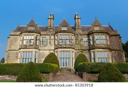 Muckross Abbey in Killarney National Park - Ireland