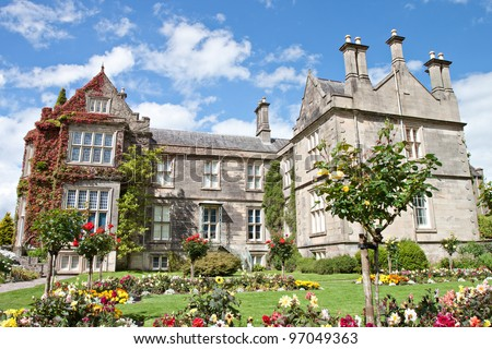 Muckross House and gardens in National Park Killarney - Ireland.