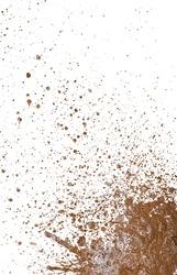 mud splatter background