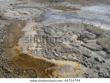 Mud Volcano at Yellowstone