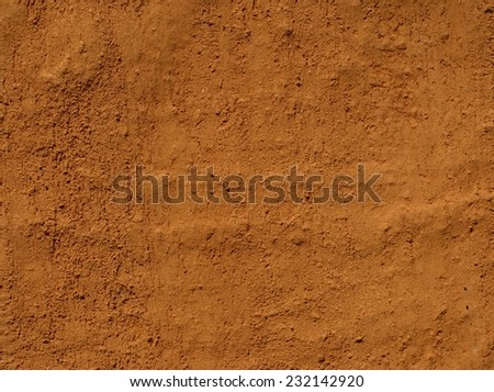 mud wall/texture of mud wall. #232142920