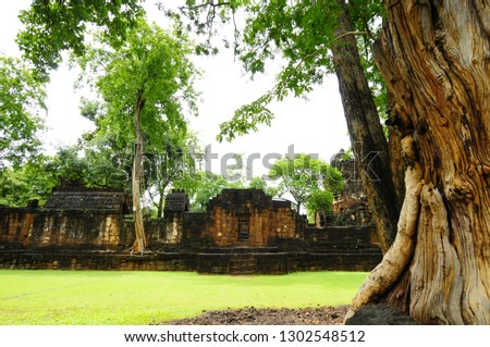 Mueang Singh historical park is famous for the architecture from Khmer history. The architecture is for residence and temple where royal family resided in.