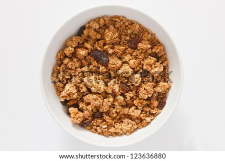 Muesli without milk