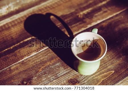 Mug Cup On The Table #771304018