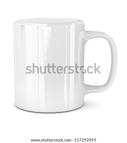 Mug - isolated on white background
