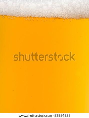 mug of beer as background