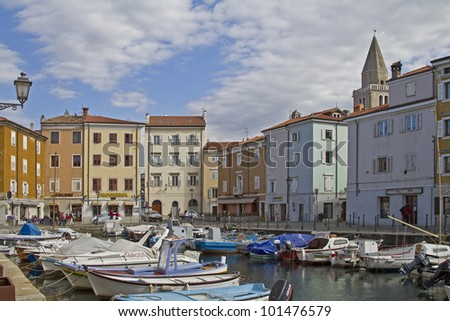 Muggia is a pretty coastal town south of Trieste.