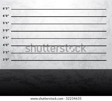 Mugshot prison background
