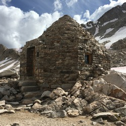 Muir Pass Shelter on the Pacific Crest Trail