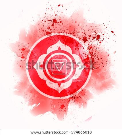 muladhara chakra symbol