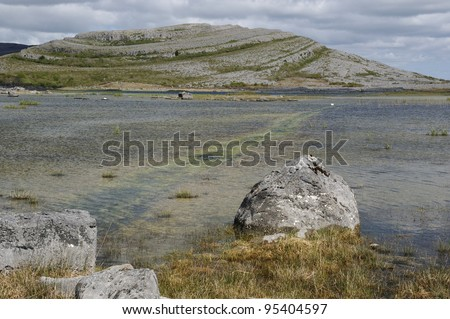 Mullaghmore & Lough Gealain, The Burren National Park, Co. Clare, Ireland