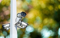 Multi-angle CCTV system background blast cipping path