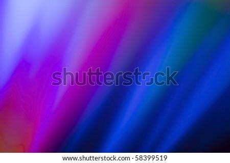 Multi-Color background light reflection - stock photo