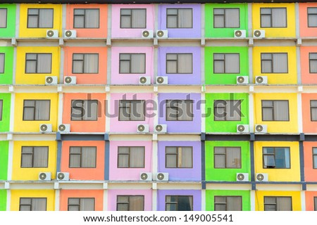 Multi Colored Apartment