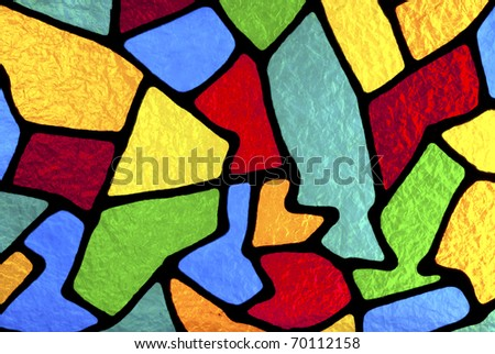 Multi colored designs. - stock photo