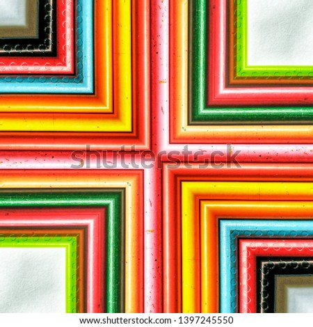 Multi Colored Mirror Effect,  Abstract Textured Wallpaper