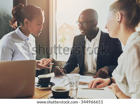 Multi ethnic business people, entrepreneur, business, small business concept