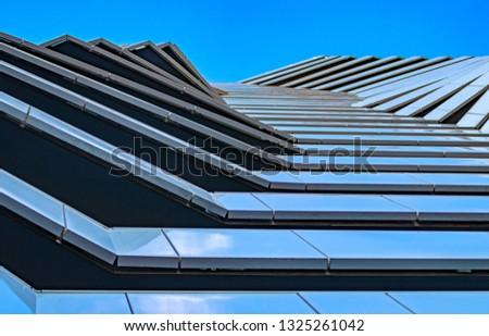 multi-layered architecture, futuristic landscape. Futuristic design #1325261042