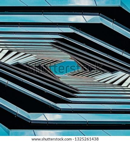 multi-layered architecture, futuristic landscape. Futuristic design #1325261438