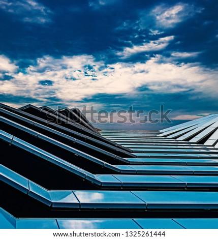 multi-layered architecture, futuristic landscape. Futuristic design #1325261444