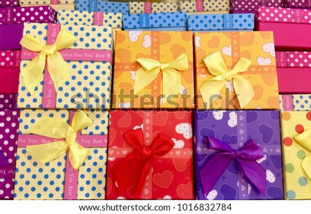 multi Present Gifts Seasonal Holiday Give #1016832784
