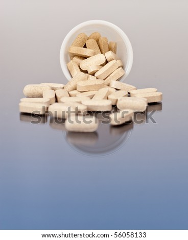 Multi-Vitamins Spilled