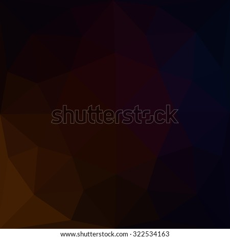 Multicolor dark red gradient geometric pattern. Triangles background. Polygonal raster abstract for your design. Cool background image for websites.