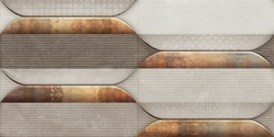 Multicolor digital wall tiles design for interior abstract home decor used ceramic digital wall tile background texture.