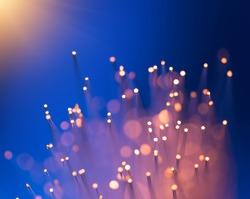 multicolor fiber optics