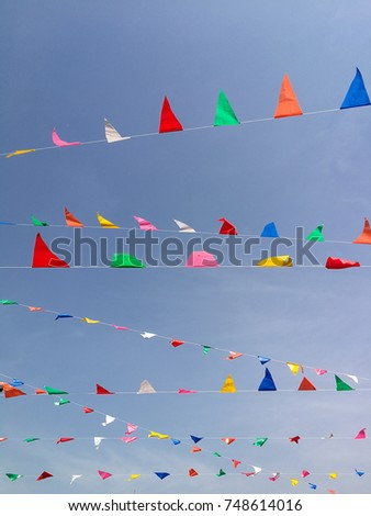 Multicolor flag #748614016