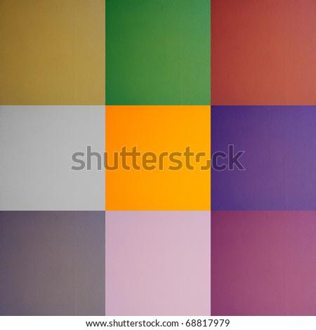 multicolor leather texture
