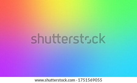 Multicolor rainbow blurred gradient background. Abstract bright colorful background Stock fotó ©
