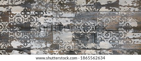 Multicolor Rustic Digital Wall Tile Decor For interior Home or Rustic Ceramic wall tile Design, Heavily Mixed Wall Art Decor For Home, wallpaper, linoleum, textile, background.