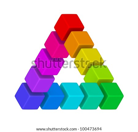 multicolor twisted triangle