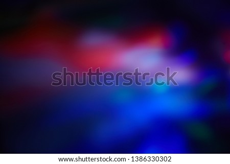 Abstract Spots Of Dark Blue Color On A White Background