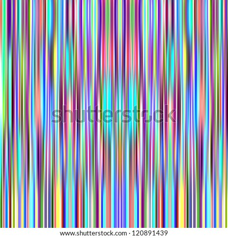 Multicolored bright vertical graduated stripes abstract background.