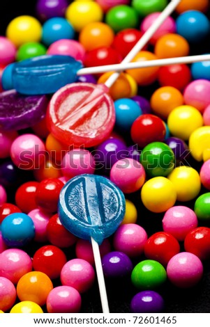 Multicolored Bubblegum