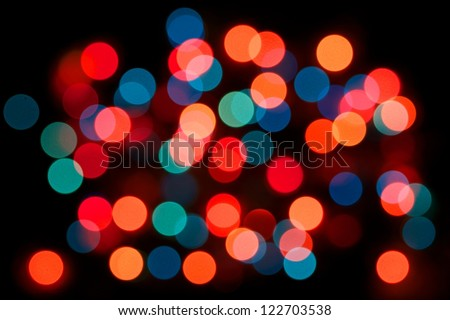 Multicolored different colors bulb light background, light bulb effect, a lot of colorful bulb, colourful background, happiness. Abstract background with natural optical bokeh and defocused sparcles